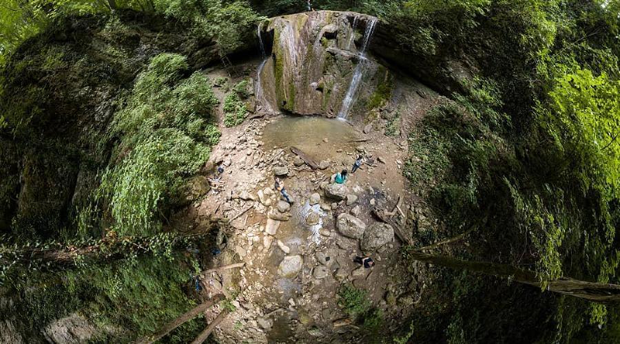 Каверзинские водопады, Горячий Ключ