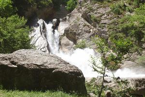 Хучнинский (Ханагский) водопад, Дагестан ©Фото Заиры Залексон, Юга.ру