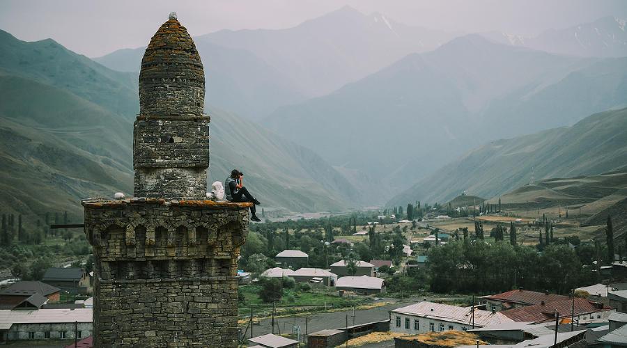 Селение Хлют, Южный Дагестан