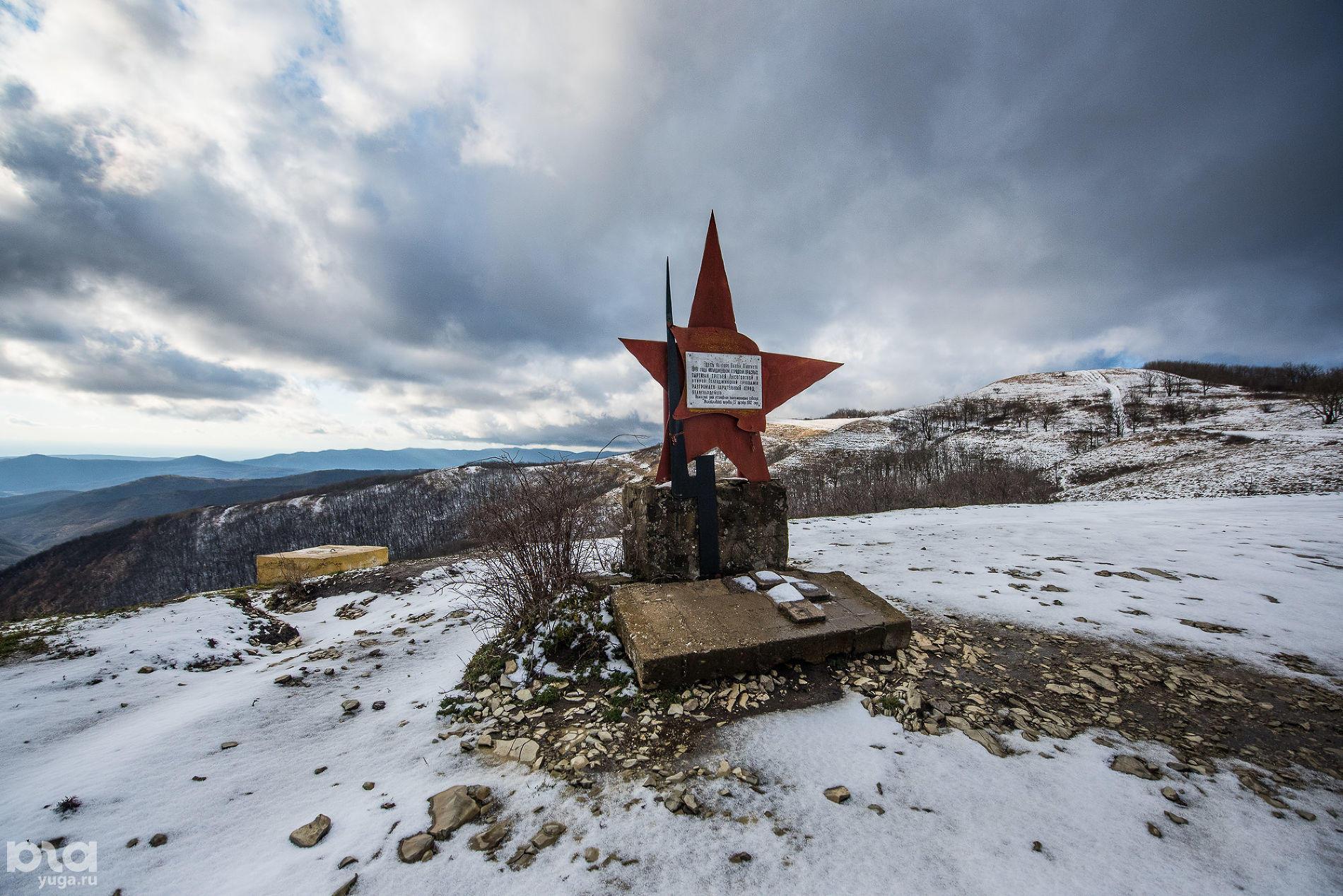 Памятник красным партизанам
