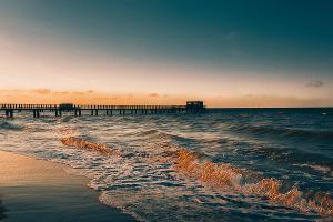 Каспийское море ©Фото Али Джафарова, с сайта pxhere.com