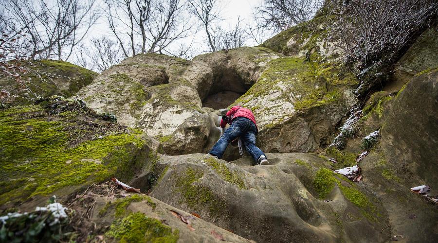 Богатырские пещеры, Горячий Ключ