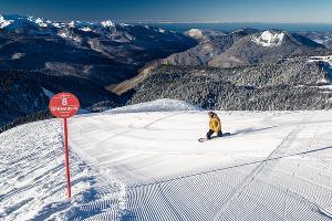 Горный курорт «Роза Хутор» ©Фото предоставлено пресс-службой горного курорта «Роза Хутор»