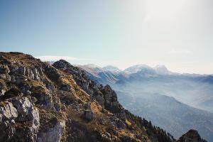 Фишт с вершины Черногора ©Фото Михаила Петренко, Юга.ру