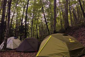 Палатки ©Фото Заиры Гамидовой, Юга.ру