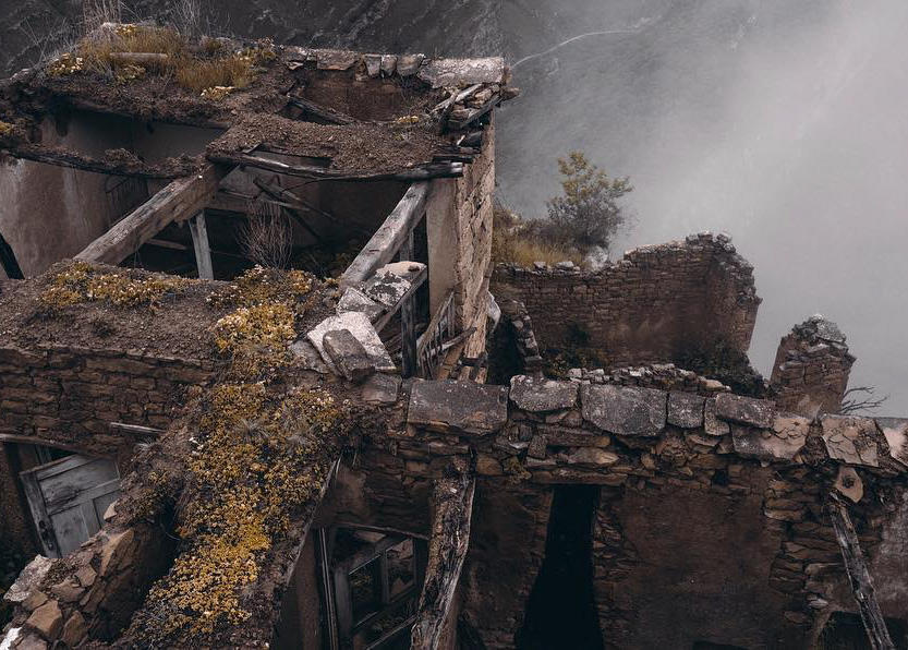 Аул-призрак Гамсутль
