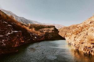 Сулакский каньон. Река Сулак ©Фото Закарьяева Мурада