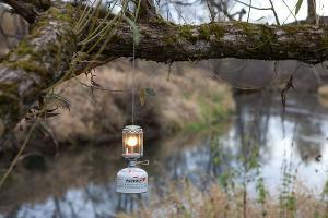 Газовая лампа в палатку ©Фото с сайта podtentom.ru