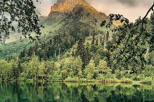 Озеро Кардывач ©Фото со страницы в инстаграме, www.instagram.com/diana_adueva/