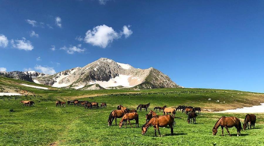 Гора Оштен, Адыгея