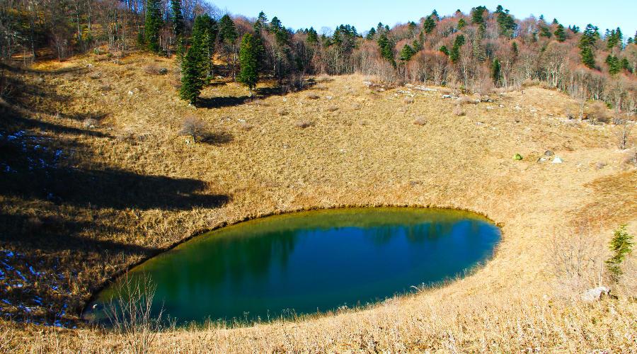 Маршрут на плато Черногор
