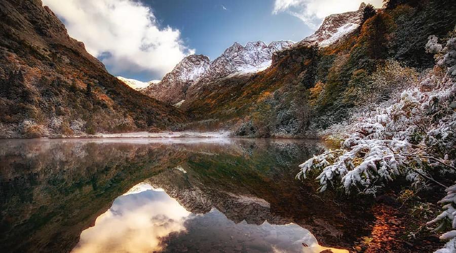 Озеро Кардывач, Красная Поляна, Сочи