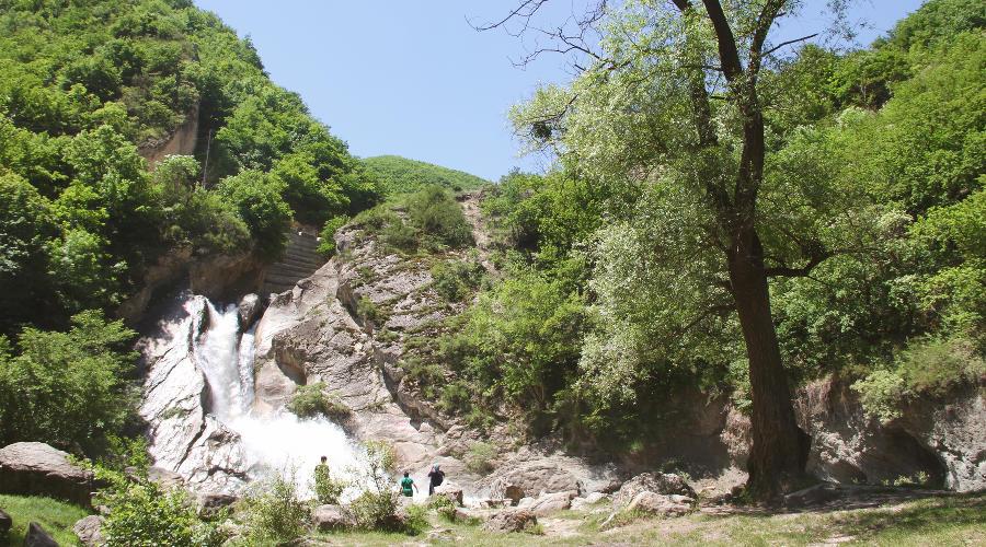 Хучнинский (Ханагский) водопад, Дагестан